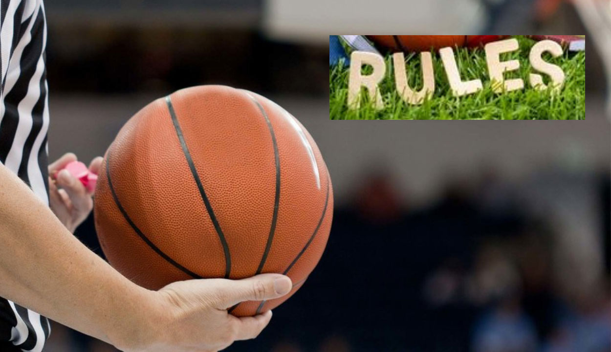 Basic rules to help you play basketball