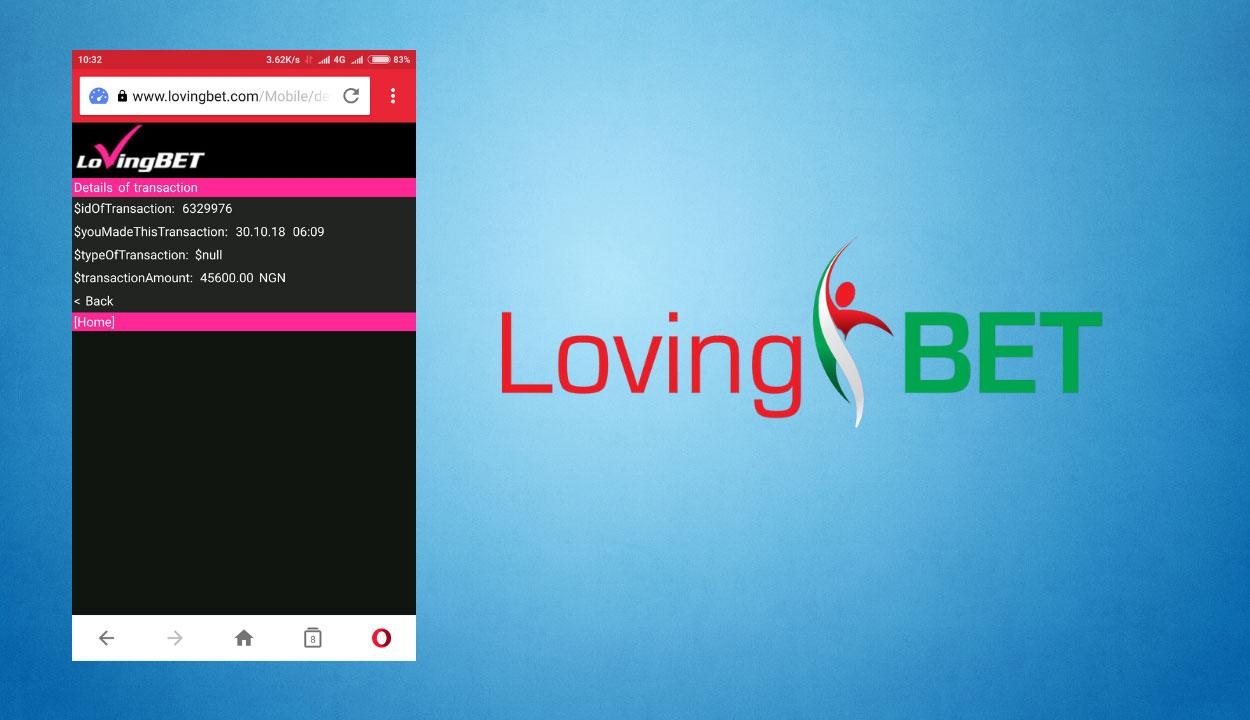 LovingBet best mobile betting app